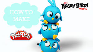 angry birds movie play doh making blues jake and