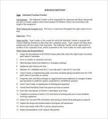 job duties of teacher marketing assistant duties job description
