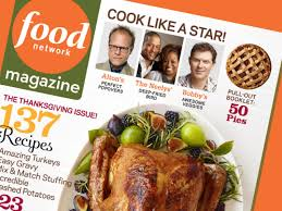 Food Network Bobby Flay Thanksgiving Food Network Magazine November 2011 Recipe Index Recipes And