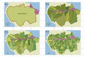 Amazon River World Map by Scientists Produce A New Roadmap For Guiding Development