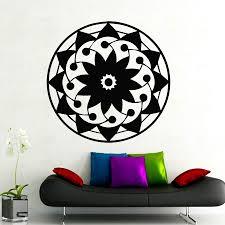 Om Wall Decal Mandala Vinyl by Online Shop Quality Wall Decals Mandala Yoga Ornament Indian