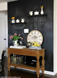 chalkboard paint ideas kitchen our home kitchen tour chalkboard walls chalkboards and