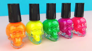 nail polish learn colors finger family nursery rhymes fun for