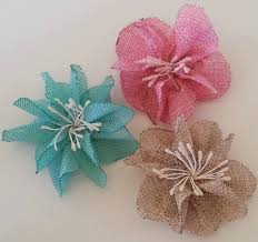 burlap flowers diy how to make flowers out of burlap burlap flower tutorial