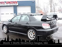 2007 subaru wrx used 2007 subaru impreza sedan wrx sti at auto house usa saugus