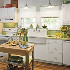 Green Country Kitchen Bookshelves Green Country Kitchen Themed With Cutter On