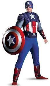 captain america costume top superhero halloween costumes