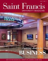 saint francis university magazine 2017 volume 1 by saint francis