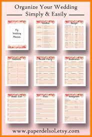 Wedding Planning Book 6 Free Printable Wedding Planner Book Packaging Clerks
