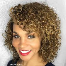 wanded hairstyles 40 cute styles featuring curly hair with bangs