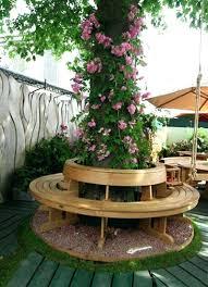 Teak Benches Outdoor Circular Teak Tree Bench Mecox Gardens Benchescircular