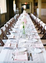 Long Table Centerpieces 12 Incredible Long Tables At Weddings Preowned Wedding Dresses
