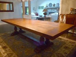 hand crafted dining room table by ajc woodworking custommade com