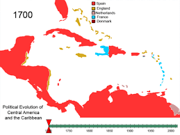 map of america with cities territorial evolution of the caribbean