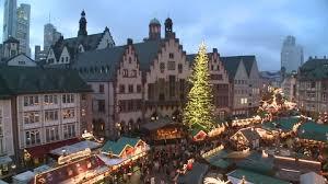 christmas market frankfurt am main germany hd stock video