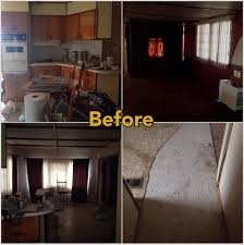 can mobile home kitchen cabinets be painted mobile home makeover before and after rehab pictures