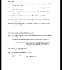 student centered stoichiometry worksheet complete package