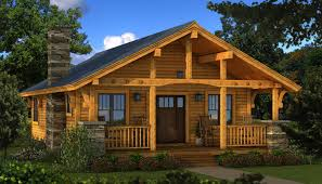 Log Home Plans Bungalow 2 Log Cabin Kit Plans U0026 Information Southland Log