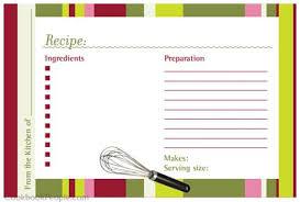 300 free printable recipe cards