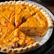 savory halloween appetizers savory pumpkin quiche recipe taste of home