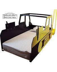 Children S Twin Bed Frames Amazing Deal On Excavator Twin Kids Bed Frame Handcrafted