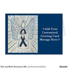 custom awareness ribbons 200 best blue and black awareness ribbon images on