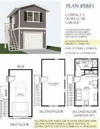 71gafdgfqpl sl1148 garage plans two story car plan house with loft