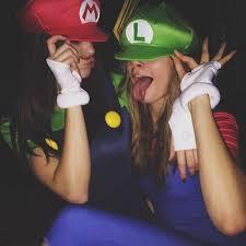Mario Luigi Halloween Costume Stars Prove Isn U0027t Halloween Celebrity