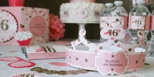 sweet 16 favor ideas sweet 16 birthday party theme bigdotofhappiness