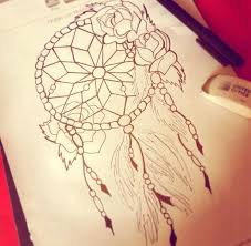 dream catcher tattoo sketch tattoos sketches and piercings