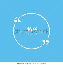 Business Card Sheet Template Quote Vector Blank Template Bubble Label Stock Vector 367635365