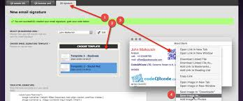 how to add qr code signature to gmail tutorial codeqrcode com blog