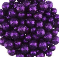 purple glitter foam balls vase fillers decorative balls small