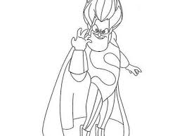 incredibles running man coloring pages wecoloringpage