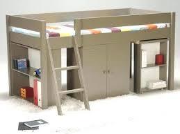 lit bureau adulte lit en hauteur adulte maison design lit bureau adulte grafik lit