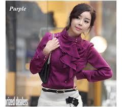womens silk blouses free shipping wholesale fashion working shirts dress