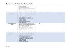 gustavo brandt technical writing profile