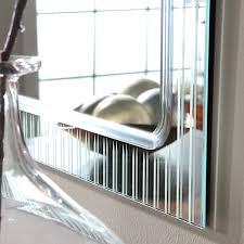 Decor Wonderland Mirrors Amazon Com Frameless Wall Mirror Home U0026 Kitchen