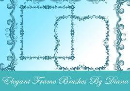 Elegant Decorative Frames Free shop Brushes at Brusheezy