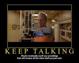 Fifth Element Meme - demotivational poster keep talking vulcan stev s database