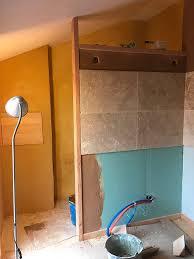 enduit carrelage cuisine de la peinture de l enduit de l électricité etc maison paille