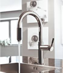 graff kitchen faucet add drama with a black faucet abode