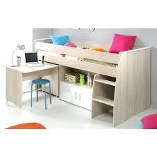 bureau blanc fille lit combinac bureau pas cher lit combinac bureau conforama lit