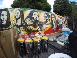 bob marley museum 56 hope rd kingston jamaica michael ortiz art above is the unveiling and captures of the process and the mural we painted for the bob marley museum in kingston jamaica we are very pleased and honored