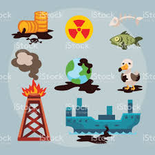 ecological problems environmental oil pollution of water earth air