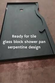 Tiled Shower Ideas by Best 25 Glass Block Shower Ideas On Pinterest Bathroom Shower
