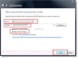 use map drive how to map a drive windows 7 vista or windows