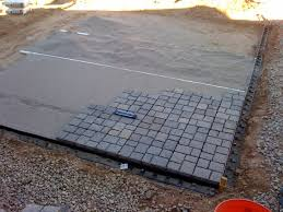 Easy Paver Patio Diy Paver Patio Add Small Backyard Pavers Add Best Way To Lay A