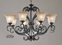 Wrought Iron Ceiling Lights Rustic Wooden Wrought Iron Chandeliers Shades Of Light With Regard