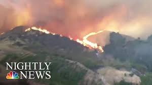 Wildfire Western Us by Heat And Wildfires Continue To Ravage The Western Us Nbc Nightly